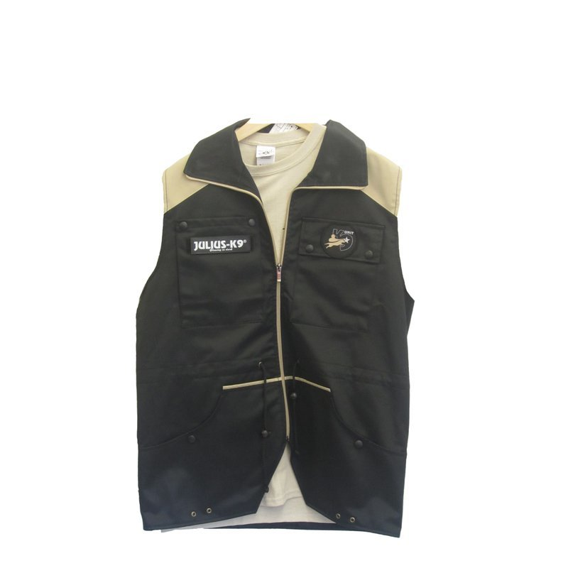 68508b0f9ae Julius-K9 Trainingsvest black/beige.