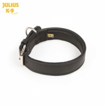 Julius-K9 Halsband leder 25mm.