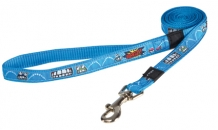 Rogz For Dogs Scooter Lijn Comic Turquoise - 16 MMX1.4 MTR