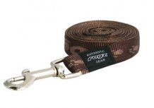 Rogz For Dogs Matterhorn Leiband - 16 mm x 1.4 m - Choco