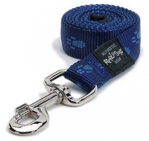 Rogz For Dogs Kilimanjaro Leiband - Blauw - 11 mm x 1.8 mtr