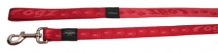 Rogz For Dogs Kilimanjaro Leiband - 11 mm x 1.8 m - Rood