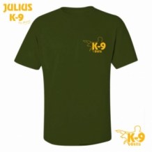 Julius-K9 T-shirt Olive-green.