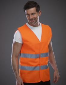 Fluo Safety Vest Orange.