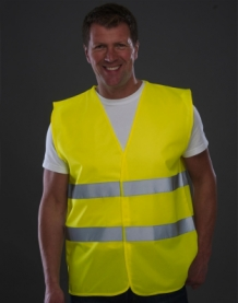 Fluo Safety Vest Yellow.