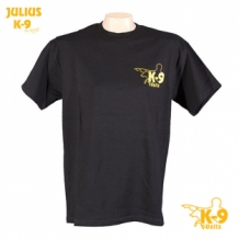 Julius-K9 T-shirt zwart.