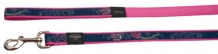 Rogz For Dogs Armed Response Leiband - 25 mm x 1.2 m - Denim Rose